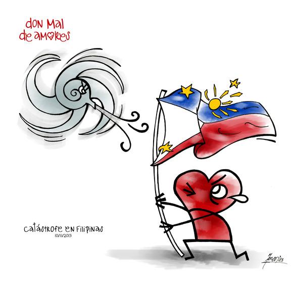 catástrofe en Filipinas